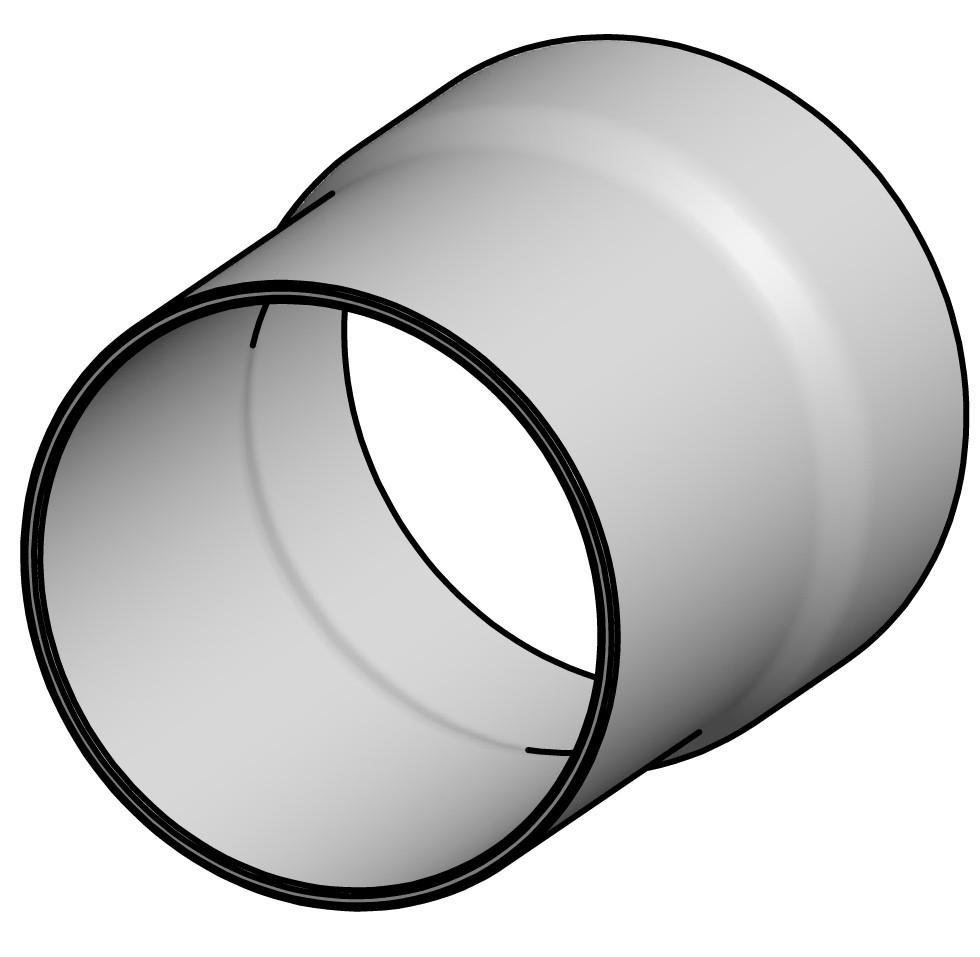 Pudotusputken liitosholkki BeQuem 419-15A