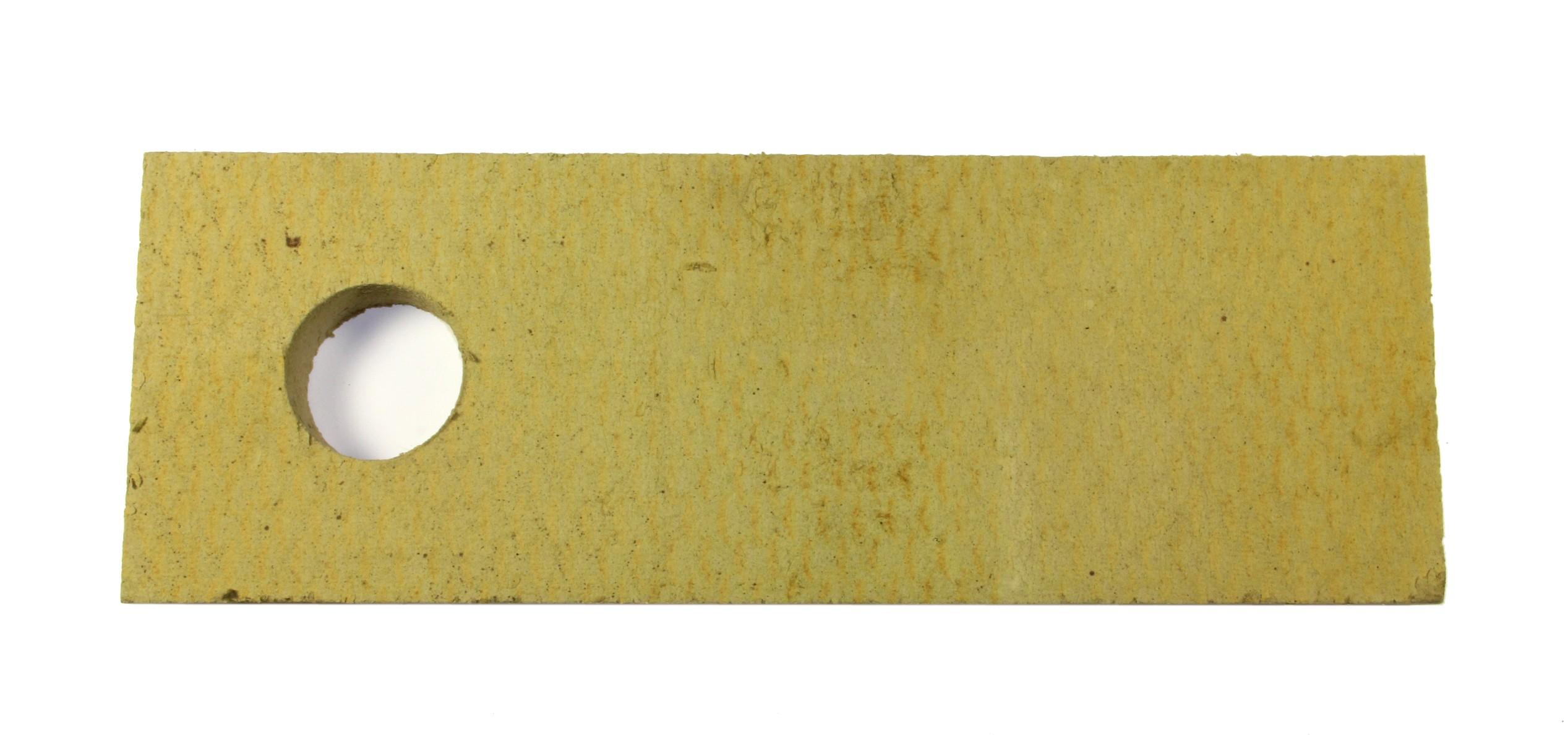 Öljypoltinluukun eriste pintalevy 50x200x690, E 17S, tulipesän puolelle