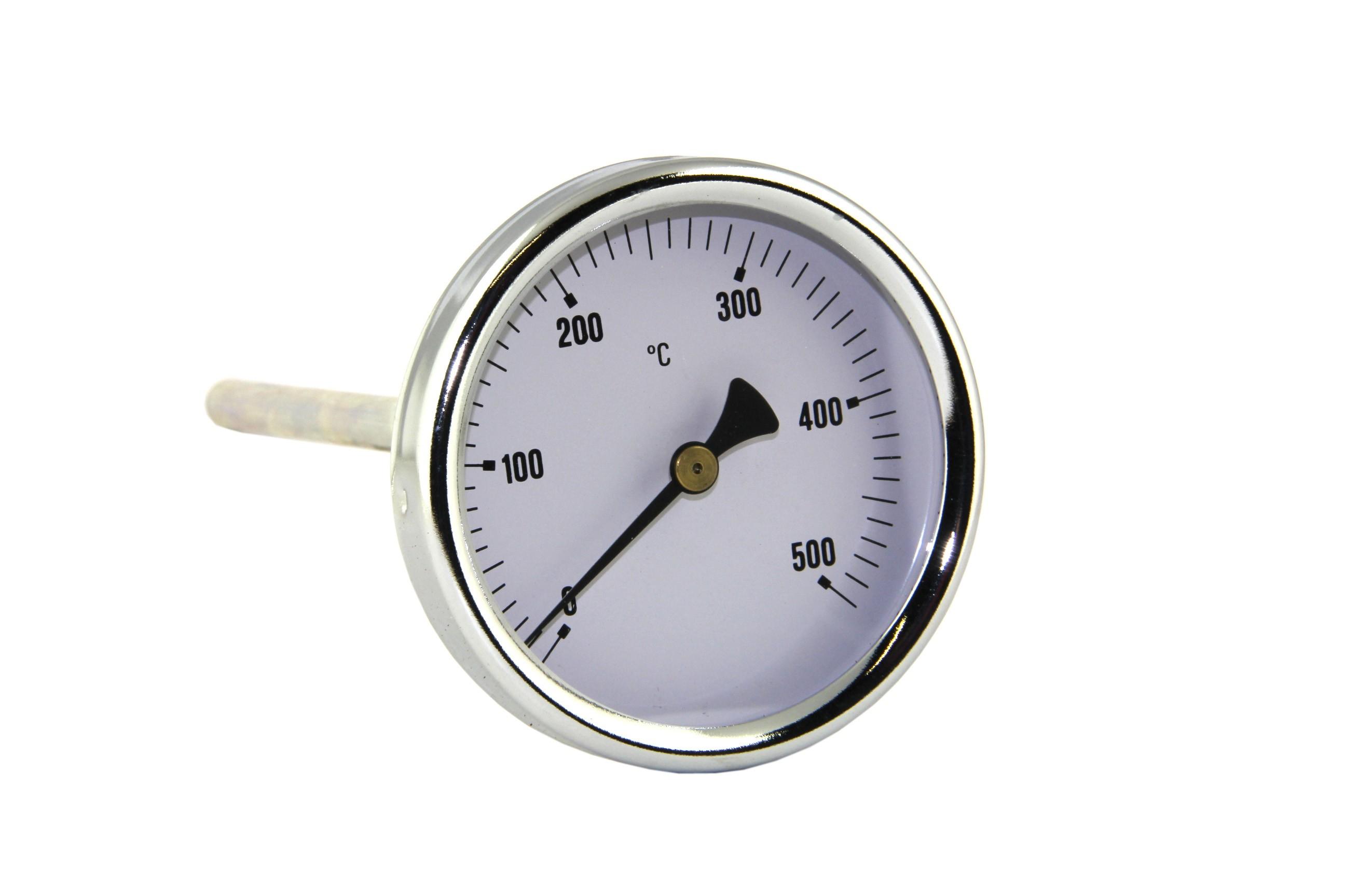 """Savukaasulämpömittari (tatti) 0-500 """"C"""