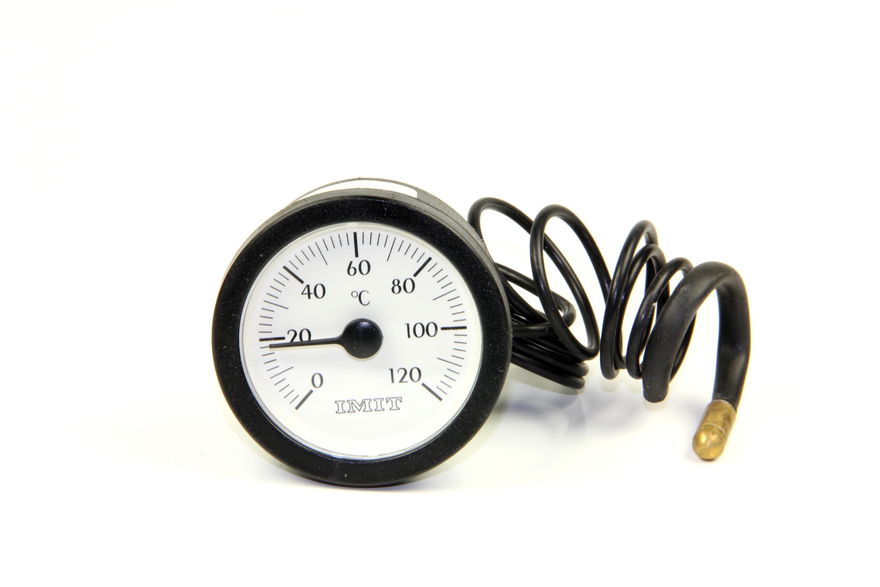 Lämpömittari 0-120°C D=57