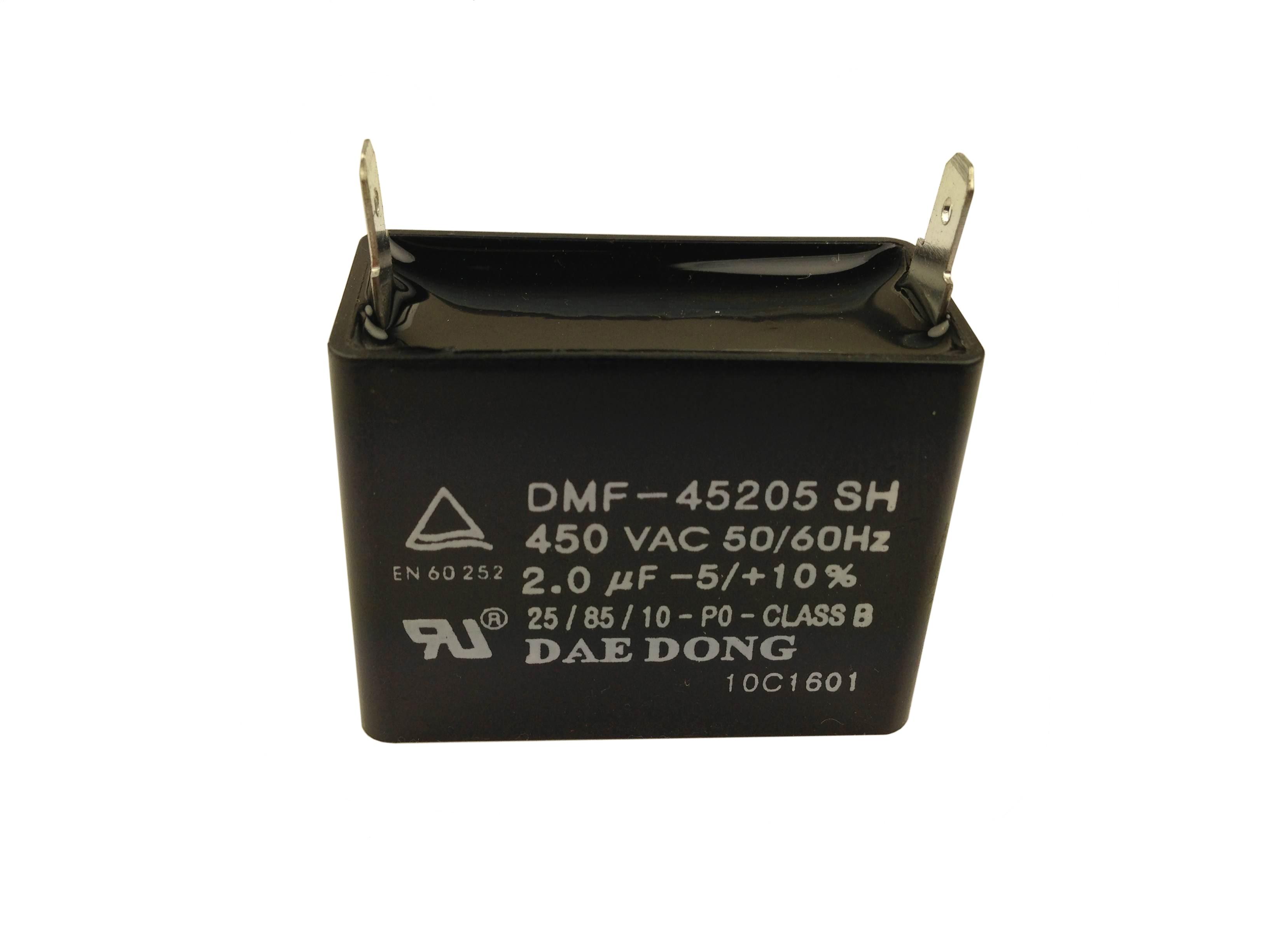 Kondensaattori 2 µF, BQ40/50