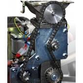 Tehdaskunnostus ketjuvetoiseen alumiinirunkoiseen pellettipolttimeen BQ20 v. 2010 eteenpäin