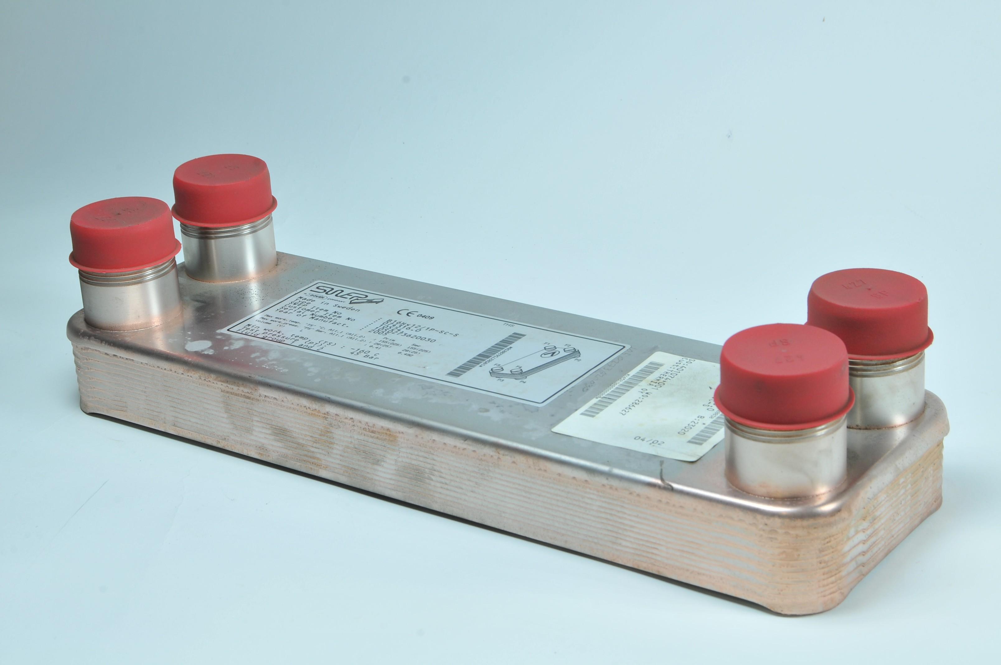 Heat exchanger B16HX12 - Ariterm E320 K - Oil and gas boilers - BIO ...
