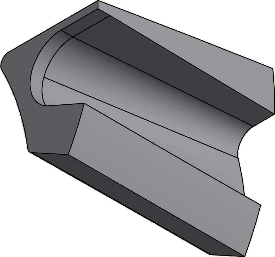Sivukeraami oikea 1 BJM 500 BJM500-R160B