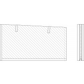 Sivukeraami, väliosa oikea Multijet 1000 LAP-MK10027